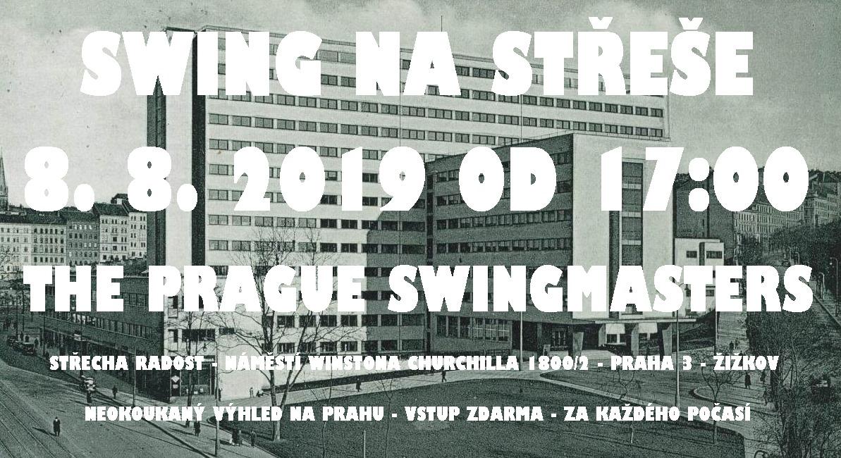SWING na střeše w/ The Prague Swingmasters